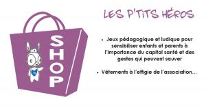 La boutique des P'tits Heros - secourisme - jeux enfant- facebook