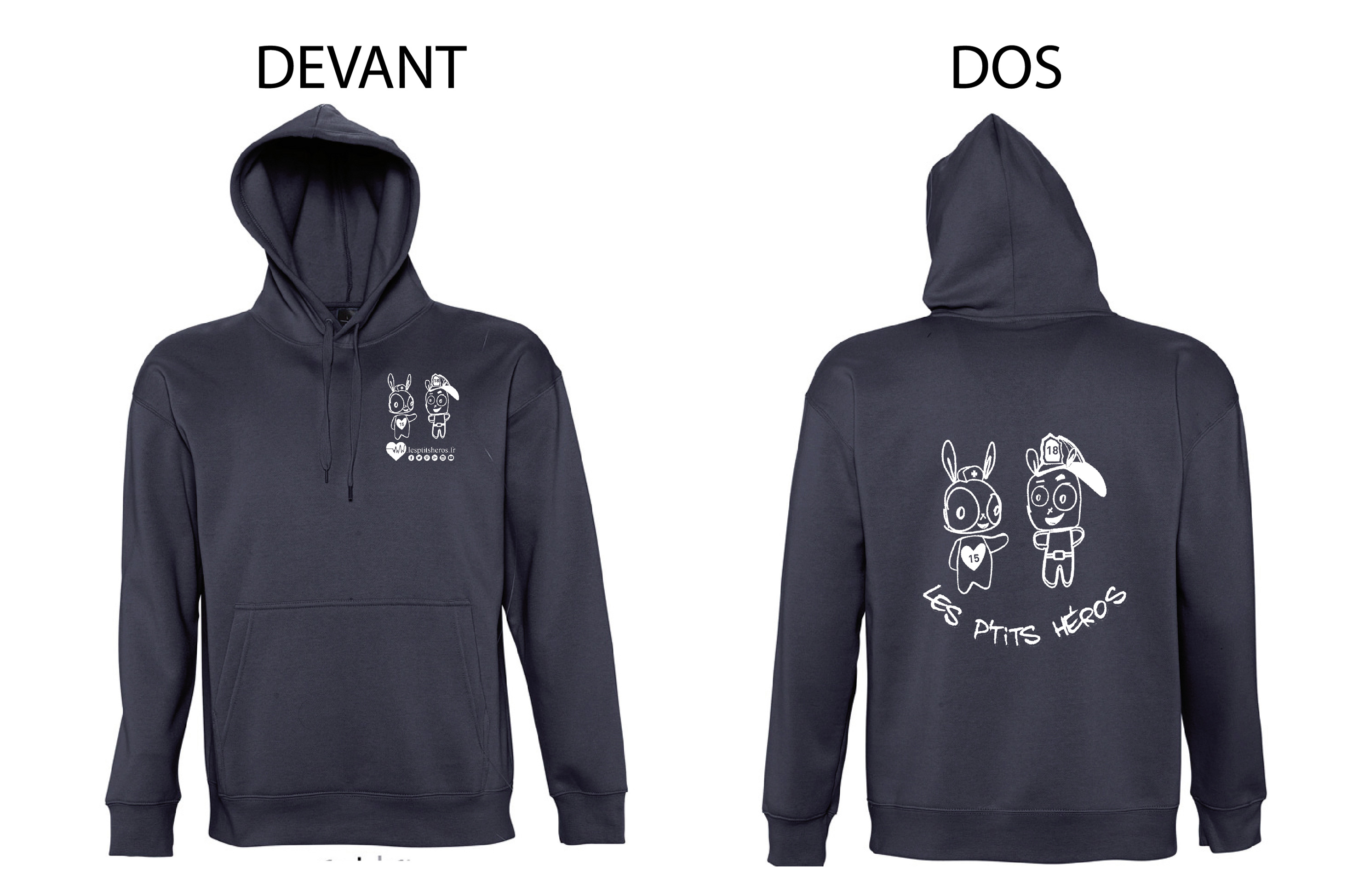 Le Sweat officiel des P'tits Héros