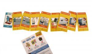 kit défi jeu carte secourisme enfant